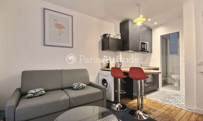 Rent Apartment 1 Bedroom 27m² rue de la Collegiale, 5 Paris