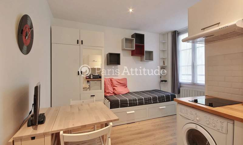 Rent Apartment Studio 15m² rue du Faubourg Saint Antoine, 11 Paris