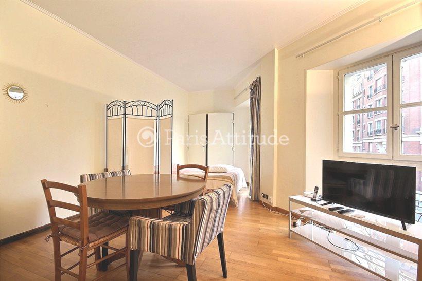 Rent furnished Apartment Studio 35m² rue d Hauteville, 75010 Paris