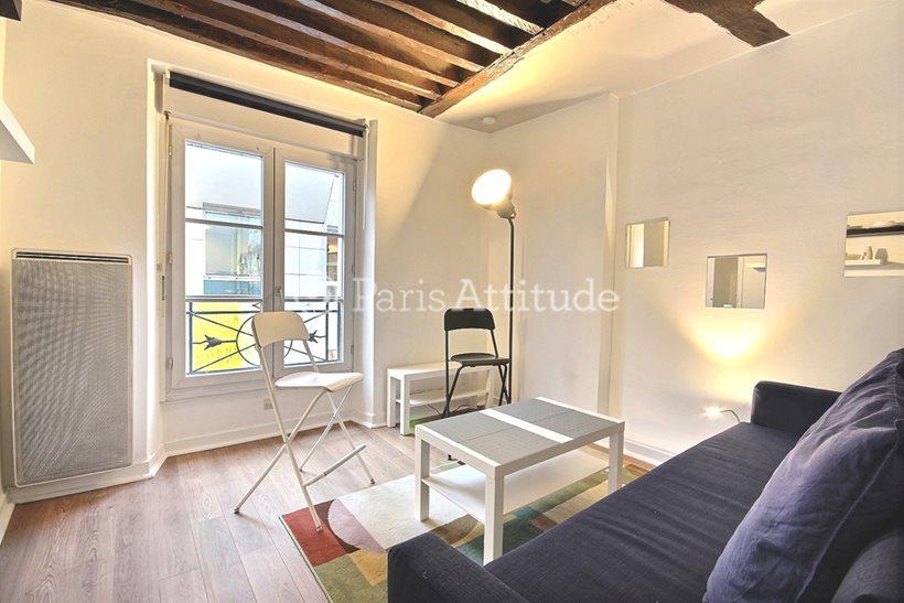 Aluguel Apartamento mobiliado Quitinete 15m² rue Greneta, 75002 Paris