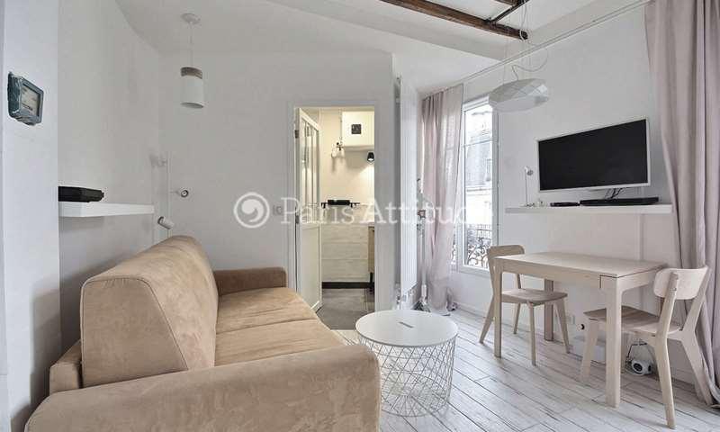 Aluguel Apartamento Quitinete 19m² rue des Trois Freres, 18 Paris
