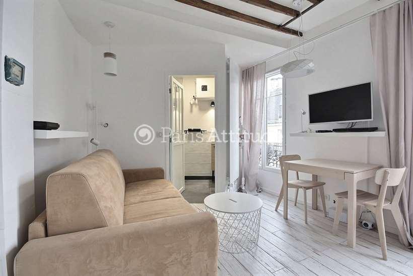 Louer Appartement meublé Studio 19m² rue des Trois Freres, 75018 Paris