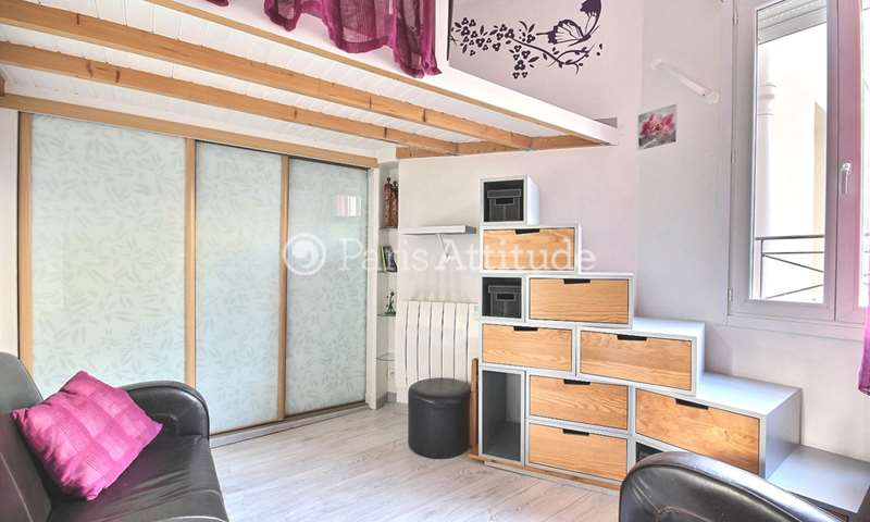 Rent Apartment Studio 17m² rue Gambey, 11 Paris