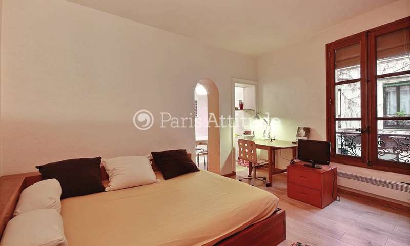 Rent Apartment Alcove Studio 31m² rue Broca, 5 Paris