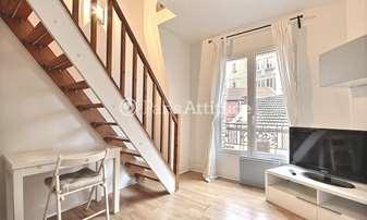 Rent Duplex 1 Bedroom 30m² rue Le Marois, 16 Paris