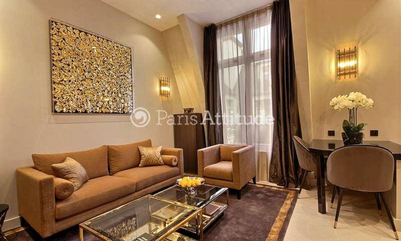 Location Appartement Alcove Studio 39m² avenue des Champs elysees, 8 Paris
