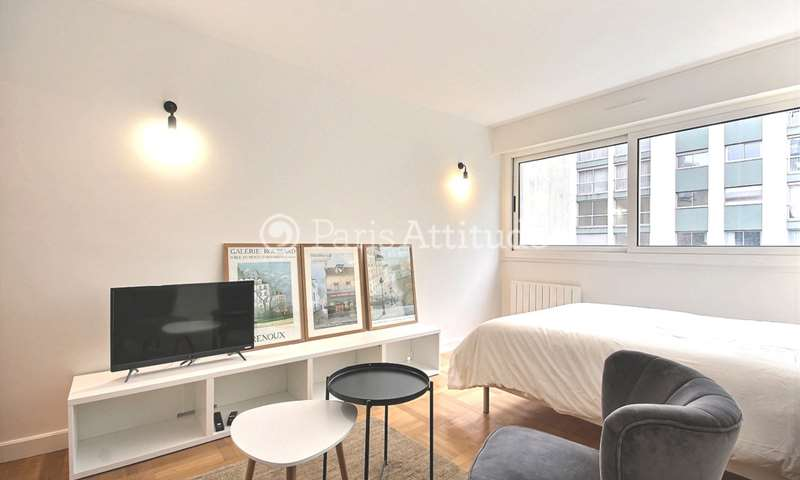 Rent Apartment Studio 25m² rue Singer, 16 Paris