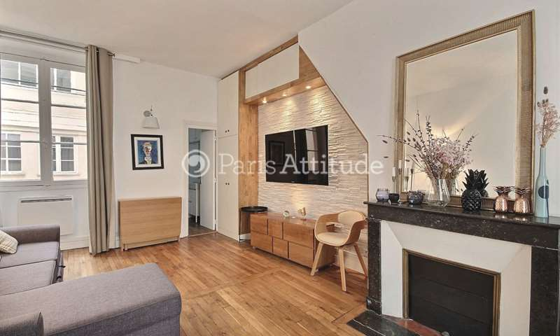 Rent Apartment Studio 31m² rue Sainte Anastase, 3 Paris