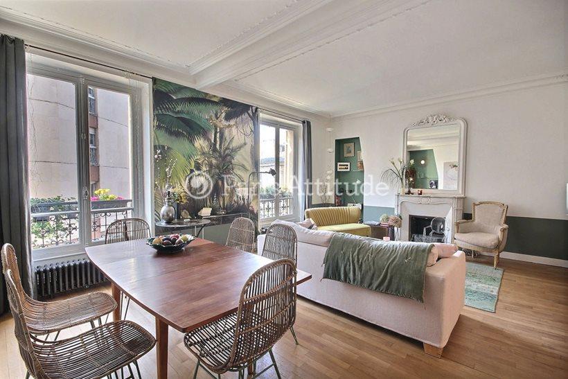 Rent furnished Apartment 2 Bedrooms 78m² rue des Moines, 75017 Paris