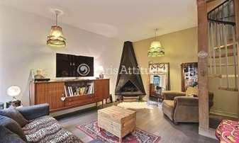 Rent Apartment 2 Bedrooms 70m² rue Arthur Rozier, 19 Paris