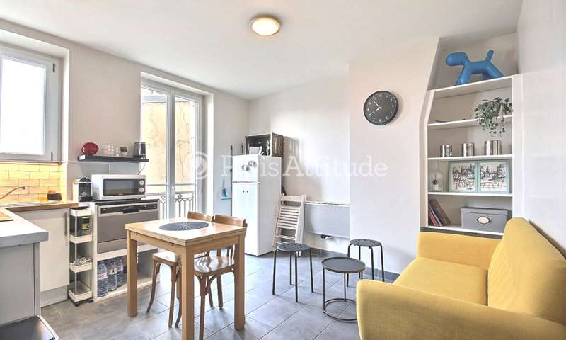 Rent Apartment 2 Bedrooms 45m² boulevard de Menilmontant, 11 Paris