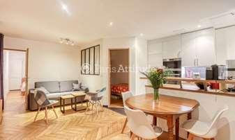 Rent Apartment 2 Bedrooms 53m² rue Cadet, 9 Paris