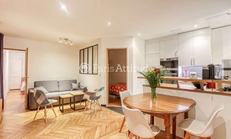 Rent Apartment 2 Bedrooms 53m² rue Cadet, 75009 Paris