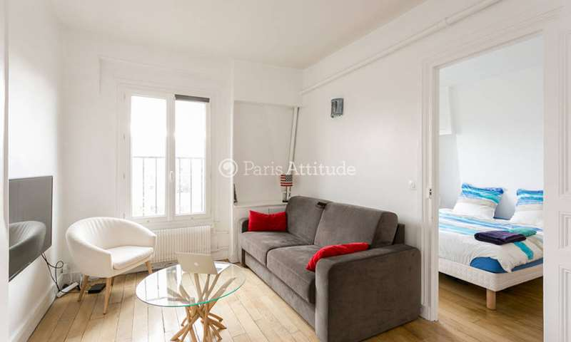 Rent Apartment 1 Bedroom 32m² avenue Georges Mandel, 16 Paris