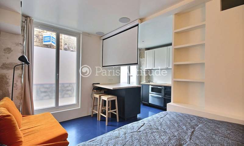 Location Appartement Studio 21m² rue Durantin, 18 Paris
