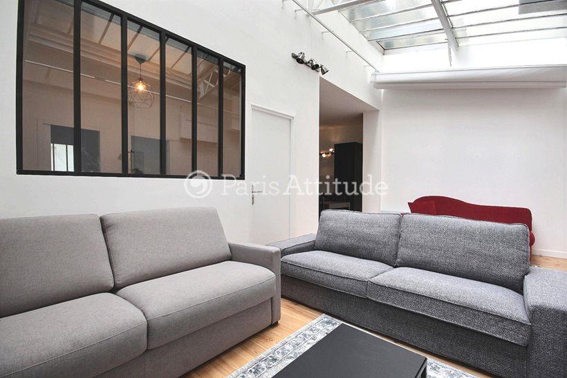 Louer Appartement meublé 3 Chambres 80m² rue de Belfort, 75011 Paris