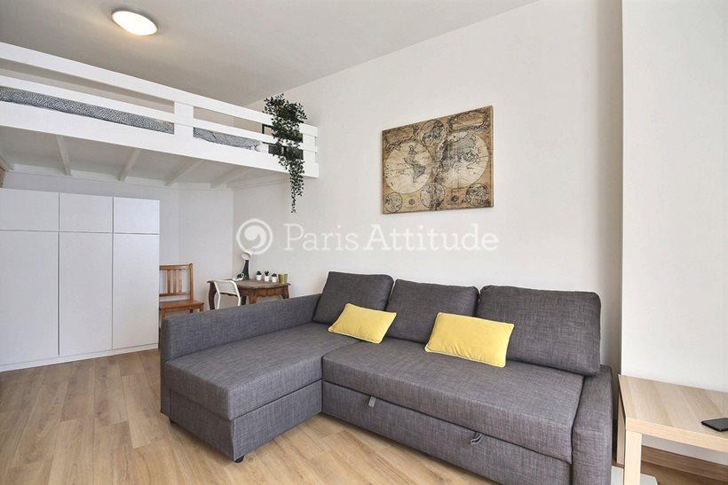 Rent furnished Apartment Studio 22m² rue Charles Moureu, 75013 Paris