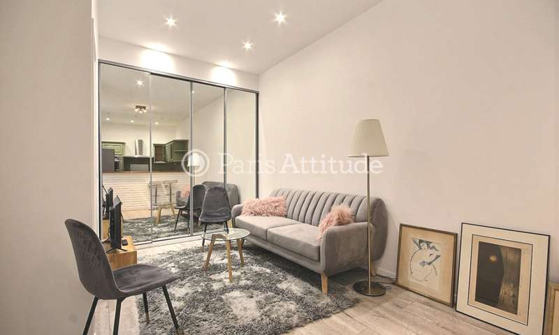 Rent Apartment 1 Bedroom 30m² rue Paul Sauniere, 75016 Paris