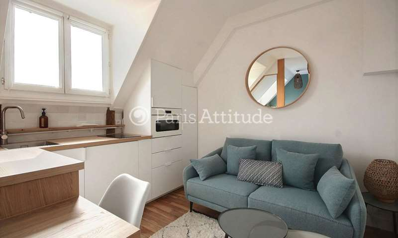 Location Appartement Alcove Studio 16m² rue Saint Didier, 16 Paris
