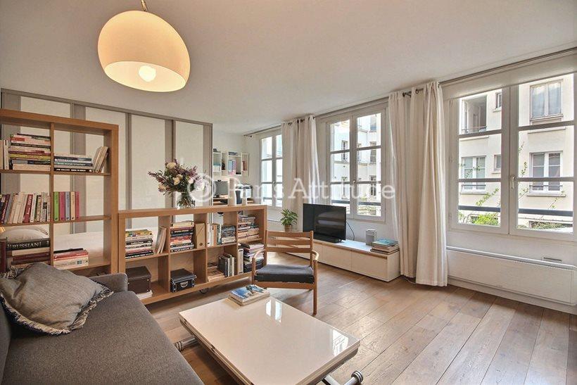 Rent furnished Apartment Studio 31m² avenue Ledru Rollin, 75012 Paris