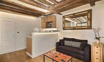 Rent Apartment 1 Bedroom 30m² rue des Poissonniers, 18 Paris