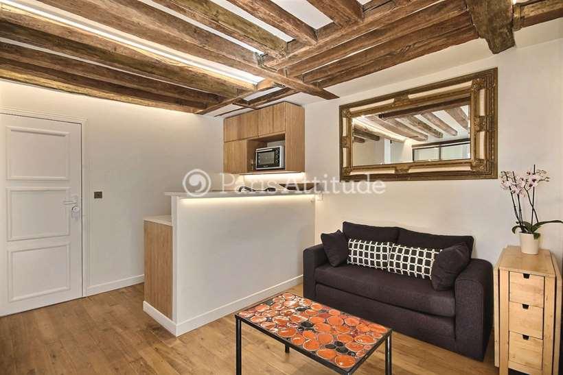 Aluguel Apartamento mobiliado 1 quarto 30m² rue des Poissonniers, 75018 Paris