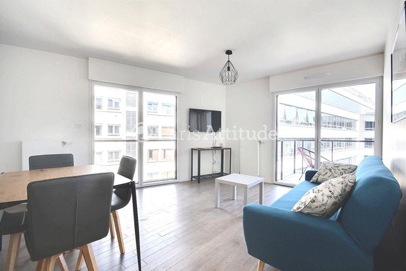 Rent furnished Apartment 2 Bedrooms 65m² avenue du General de Gaulle, 92120 Montrouge