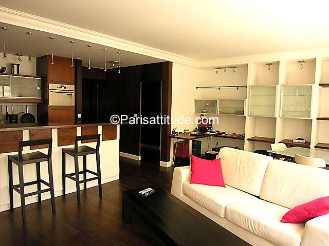 Rent Apartment 1 Bedroom 62m² avenue Foch, 75016 Paris