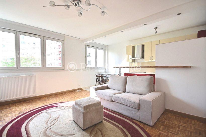 Rent furnished Apartment 2 Bedrooms 65m² square Henri Regnault, 92400 Courbevoie