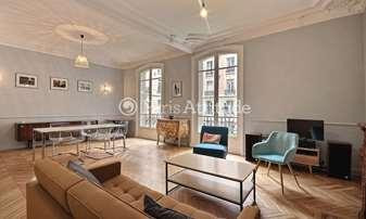Rent Apartment 2 Bedrooms 112m² rue de Clichy, 9 Paris