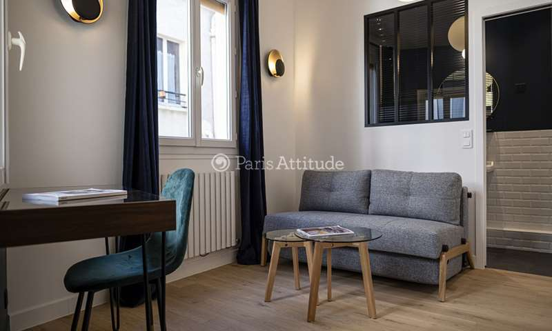 Location Appartement Studio 13m² rue Caffarelli, 3 Paris