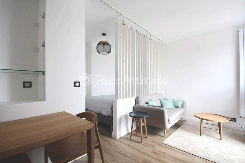 Rent furnished Apartment Alcove Studio 25m² rue du Rendez Vous, 75012 Paris