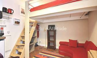 Rent Apartment Studio 13m² rue de Poitou, 3 Paris