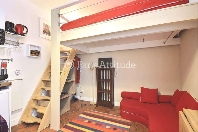 Louer Appartement meublé Studio 13m² rue de Poitou, 75003 Paris