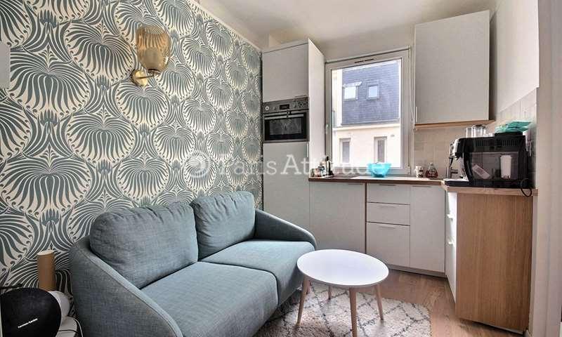 Location Appartement Alcove Studio 20m² rue du Theatre, 15 Paris