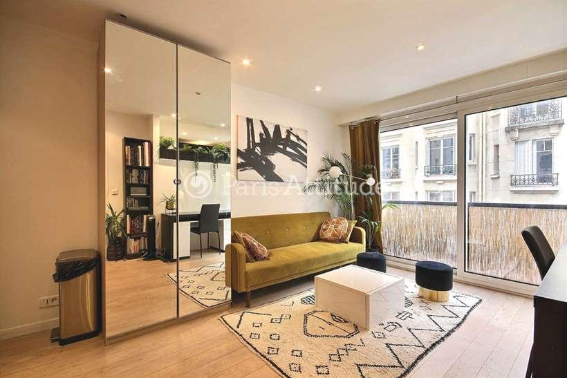 Rent furnished Apartment Studio 30m² rue Paul Sauniere, 75016 Paris