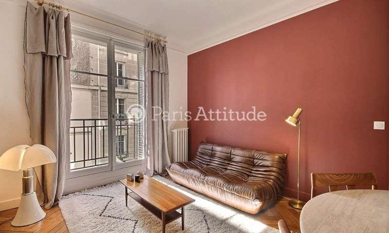 Location Appartement 2 Chambres 64m² villa Montcalm, 18 Paris