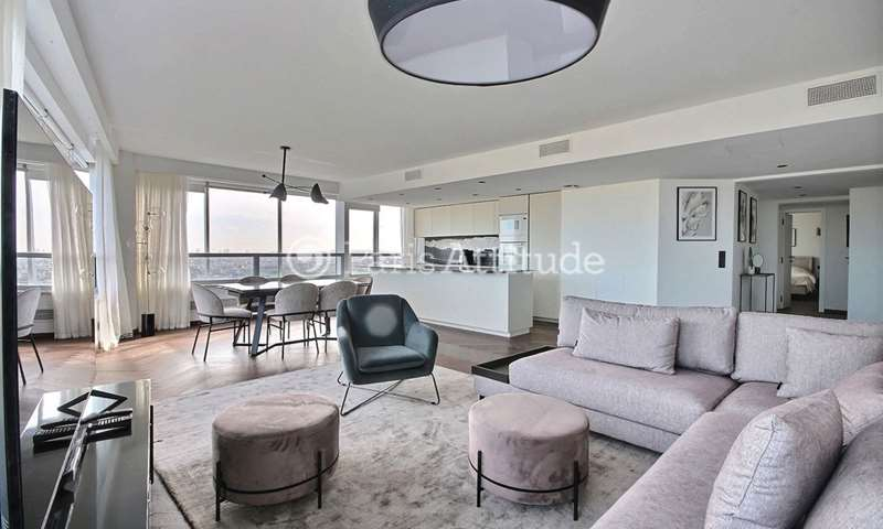 Rent Apartment 3 Bedrooms 113m² quai de Grenelle, 15 Paris