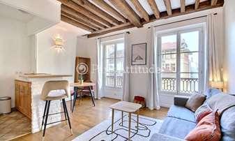Rent Apartment Studio 25m² rue Beauregard, 2 Paris