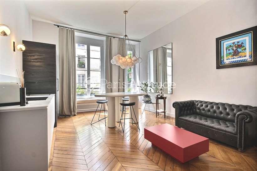 Rent furnished Apartment Studio 45m² rue Jacob, 75006 Paris