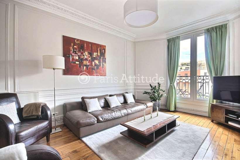Rent furnished Apartment 3 Bedrooms 99m² rue Antoine Chantin, 75014 Paris