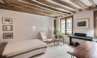 Location Appartement Studio 26m² rue des Rosiers, 4 Paris