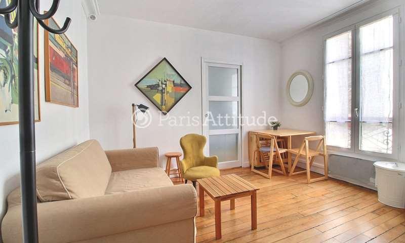 Aluguel Apartamento 1 quarto 27m² rue Durantin, 18 Paris