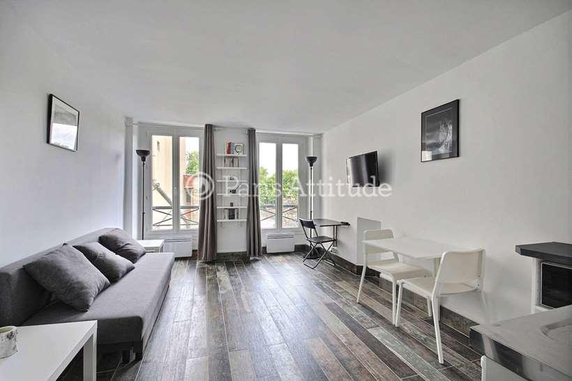 Rent furnished Apartment Studio 24m² Rue de la Gaite, 75014 Paris