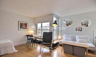 Rent Apartment Studio 38m² rue Copreaux, 15 Paris