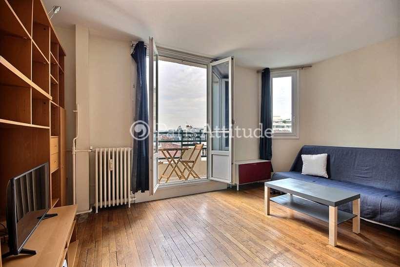 Rent furnished Apartment 1 Bedroom 41m² rue de Vaugirard, 75015 Paris