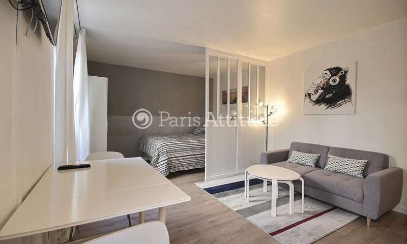 Aluguel Apartamento Studio 30m² rue des Poissoniers, 18 Paris