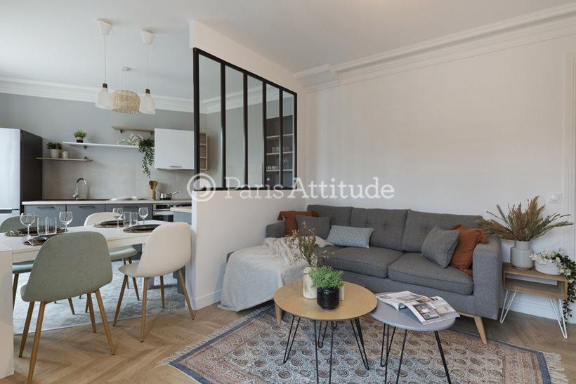 Rent furnished Apartment 2 Bedrooms 62m² boulevard Pasteur, 75015 Paris