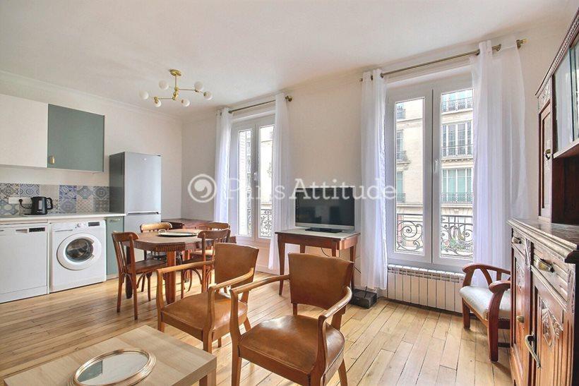 Rent furnished Apartment 1 Bedroom 42m² rue d Avron, 75020 Paris