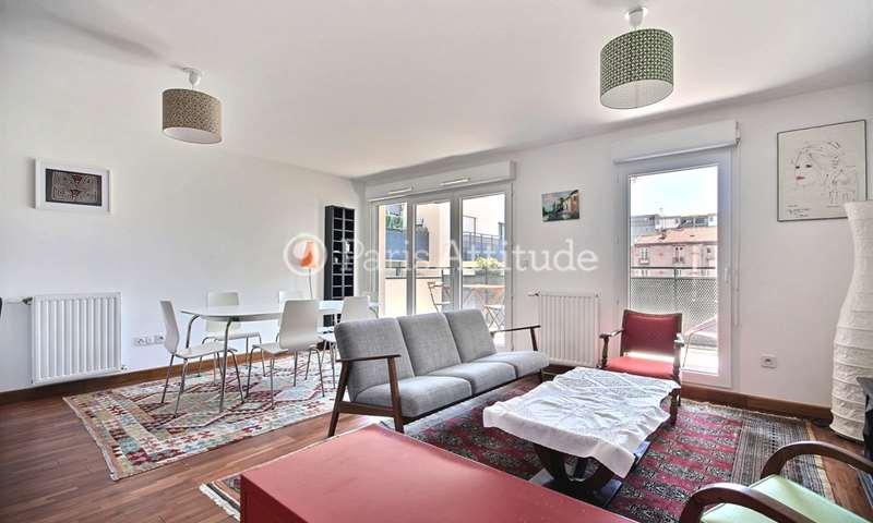 Rent Apartment 2 Bedrooms 68m² rue Jules Verne, 93400 Saint Ouen